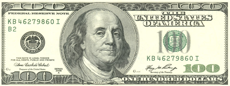 Cierres en la venta: Cierre de Benjamín Franklin